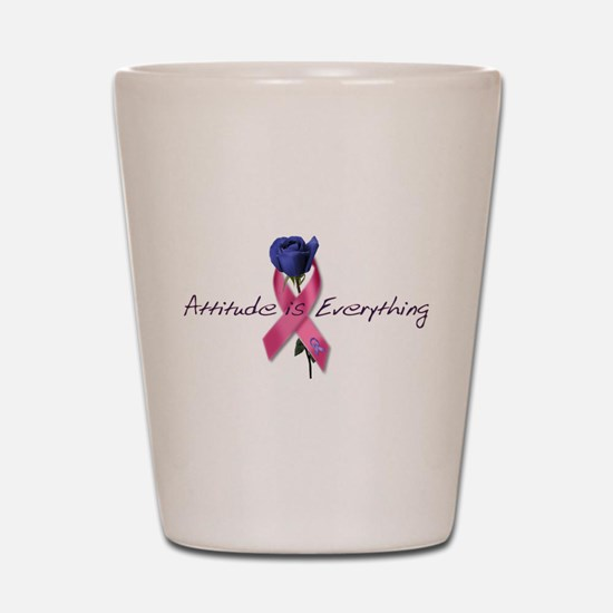 Pink Ribbon - Attitude Shot Glass
