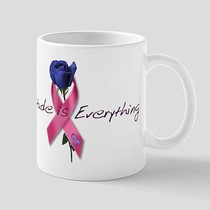 Pink Ribbon - Attitude Mug