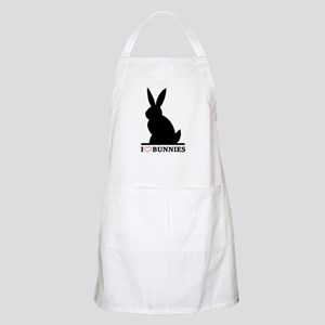 I Love Bunnies BBQ Apron