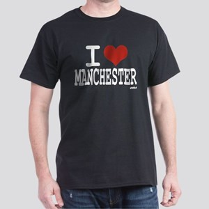 I love Manchester Dark T-Shirt