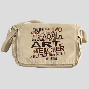 Art Teacher (Funny) Gift Messenger Bag