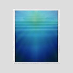 Underwater Light Shafts- Throw Blanket