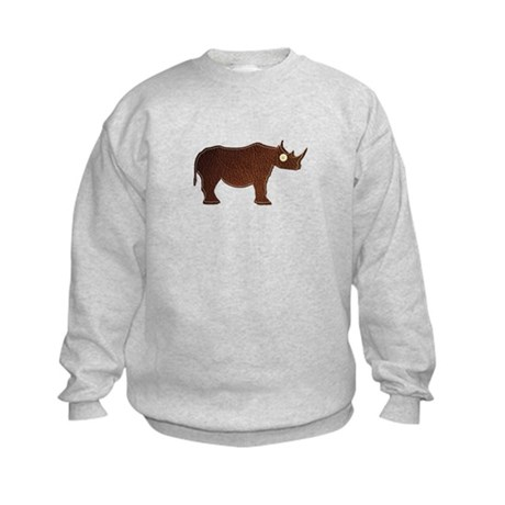 Leather Rhino Kids Sweatshirt