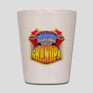 Super Grandpa Shot Glass