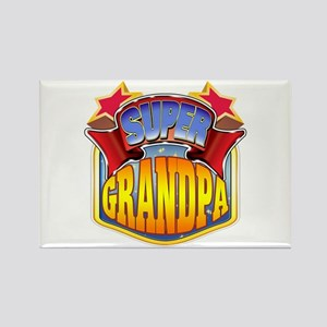 Super Grandpa Rectangle Magnet