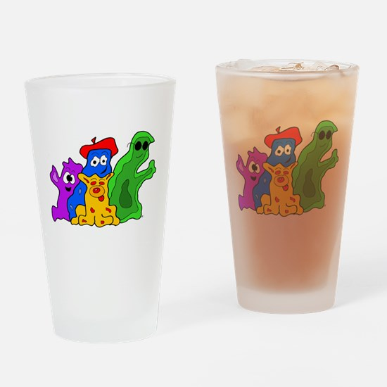 Germ Family Photo Drinking Glass