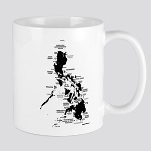 Philippines Rough Map Mug