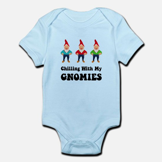Chilling With My Gnomies Infant Bodysuit