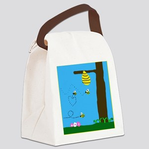 Beeutiful Canvas Lunch Bag