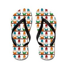 One By One The Gnomes Flip Flops