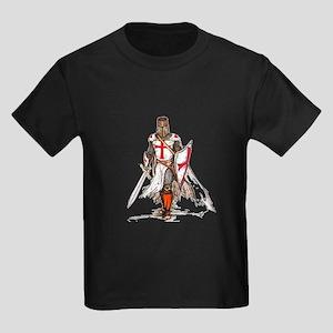 Templar Knight Kids Dark T-Shirt