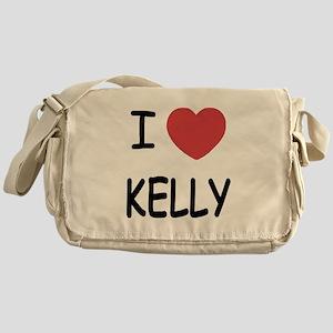 I heart Kelly Messenger Bag