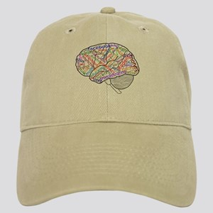 College on your Brain Cap (Khaki)