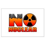 No nuclear Large Poster