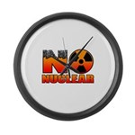 No nuclear Large Wall Clock