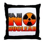 No nuclear Throw Pillow