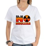 No nuclear Women's V-Neck T-Shirt