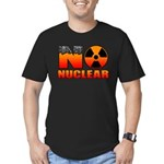 No nuclear Men's Fitted T-Shirt (dark)
