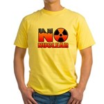 No nuclear Yellow T-Shirt