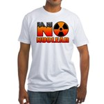 No nuclear Fitted T-Shirt