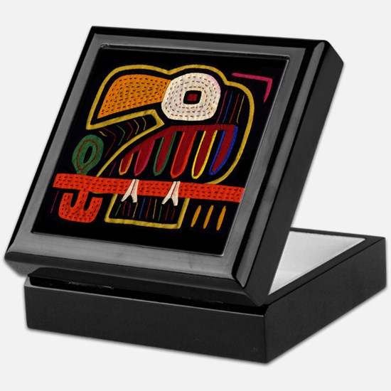 Indigenous Bird Art Keepsake Box