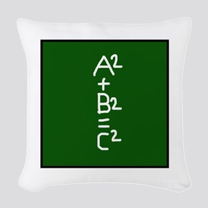 Pythagorean Woven Throw Pillow