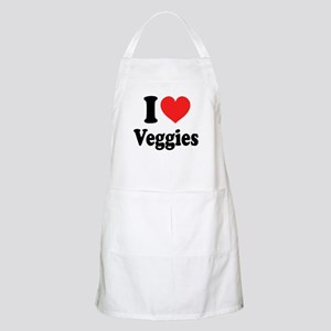 I Love Veggies: Apron