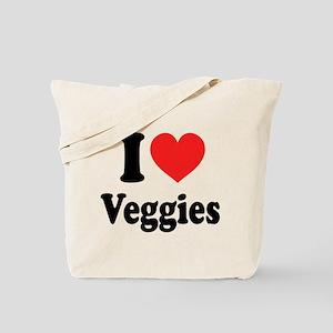 I Love Veggies: Tote Bag