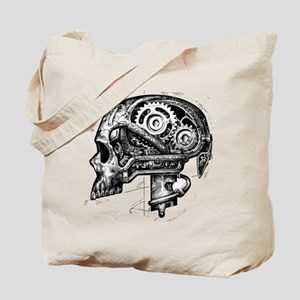 punk skull Tote Bag