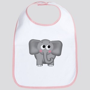 Adorable Elephant Bib