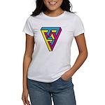 CMYK Triangle Women's T-Shirt