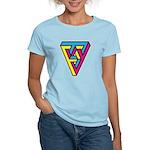 CMYK Triangle Women's Light T-Shirt