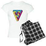 CMYK Triangle Women's Light Pajamas