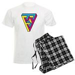 CMYK Triangle Men's Light Pajamas