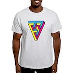 CMYK Triangle Light T-Shirt