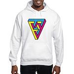 CMYK Triangle Hooded Sweatshirt