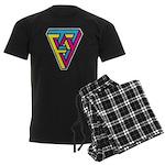 CMYK Triangle Men's Dark Pajamas