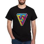 CMYK Triangle Dark T-Shirt