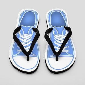 bf93cef5610d Old School Flip Flops - CafePress