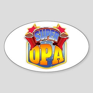 Super Opa Sticker (Oval)