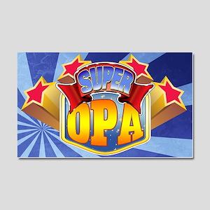 Super Opa Car Magnet 20 x 12