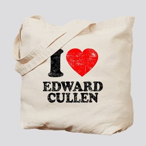 I Love Edward Tote Bag