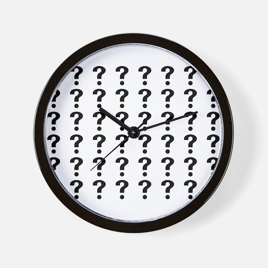 Cool Question mark Wall Clock