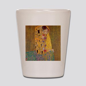 The Kiss by Klimt Shot Glass