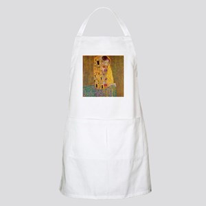 The Kiss by Klimt Apron