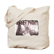 Rocky point Mexico Grunge Tote Bag