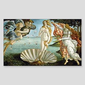Birth of Venus Sticker (Rectangle)