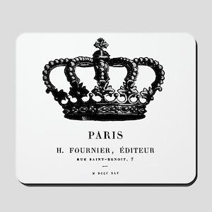 PARIS CROWN Mousepad