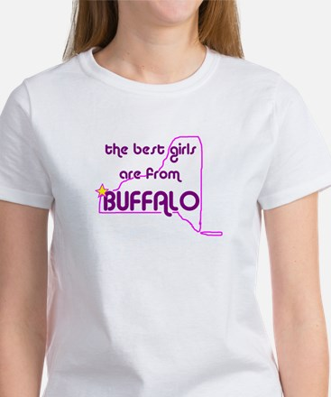 The Best Girls are from Buffalo Women's T-Shirt