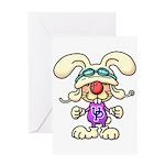 Usapyon Greeting Card